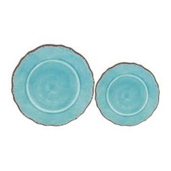 Wholesale Round Plastic Dinner Rustic Melamine Plates - Buy Rustic ...