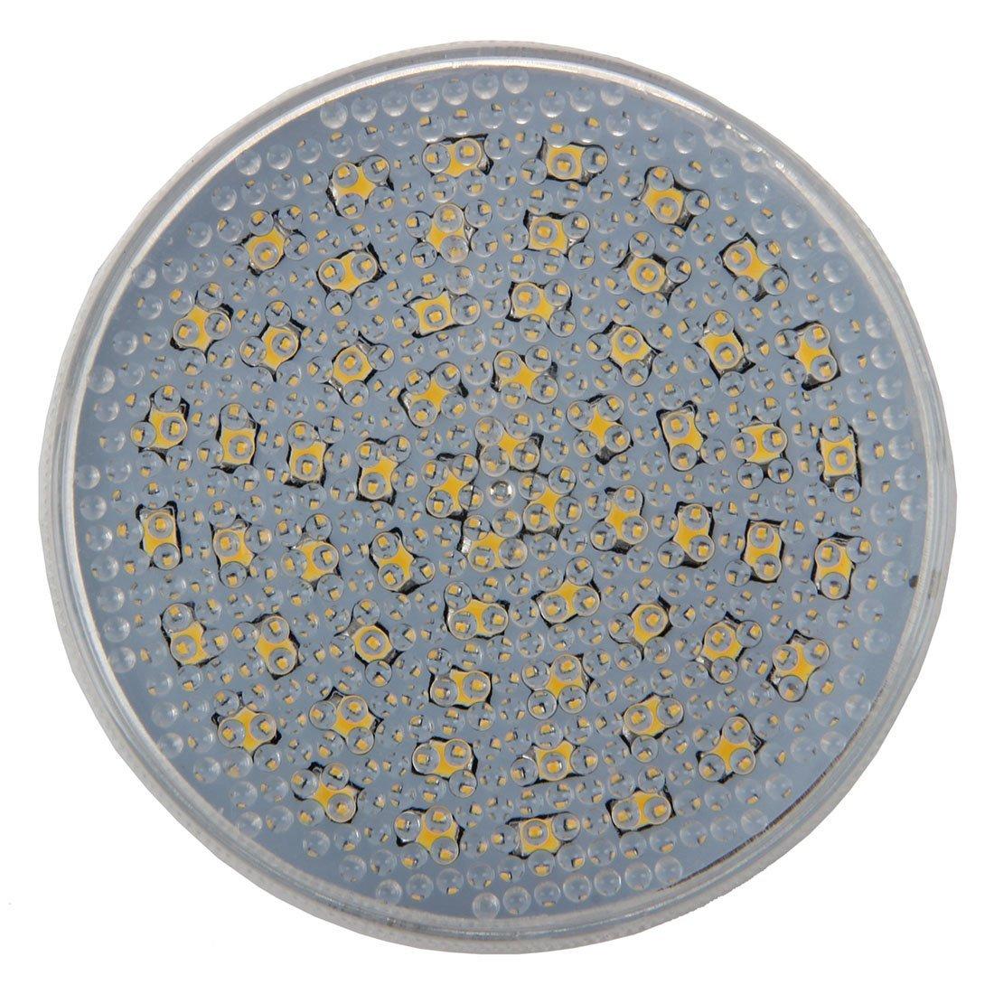 SODIAL(R) GX53 60 LED 3528 SMD 3W 3600K Warm White Ceiling Down Light Bulb Downlight