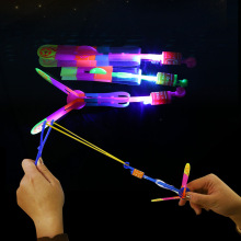 Luminous ejection LED ใหม่ luminous catapult flying arrow คู่กระพริบ slingshot flying arrow ขนาดเล็ก flying arrow