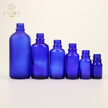 5ml 10ml 15ml 20ml 30ml 50ml 100ml glass blue essential oil bottles