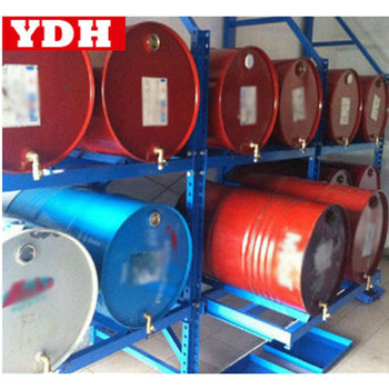 Durable Oil Drum Storage Rack Gas Steel Racking Good Beam & oil barrel storage racks | Cosmecol