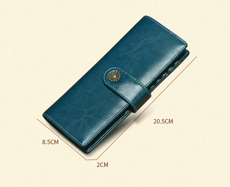 Classic long design card wallets women's high quality fashion purse card holder cluch card wallet for ladies