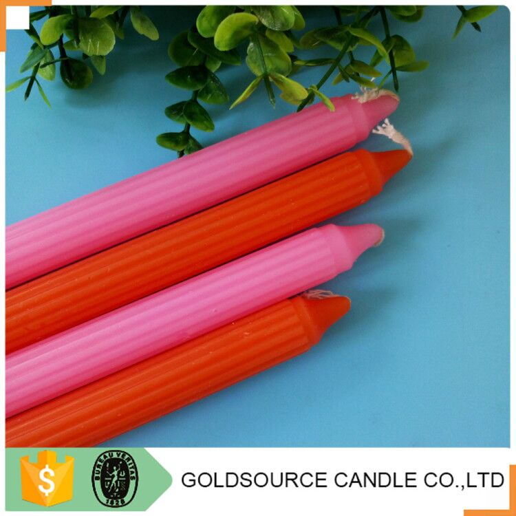 Indian Diwali Decoration Colored Fluted Candle For The Indian Festival