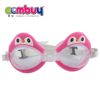 ccd37ff37a86 Sport Game Cartoon Penguin Set Children Swimming Goggles - Buy ...