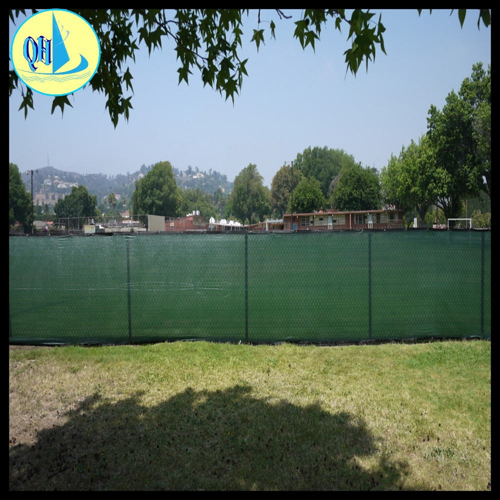 green pe tennis net tennis windscreen