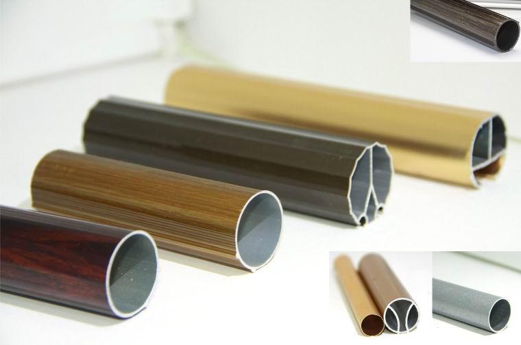Different Size Architectural Aluminum Aluminium Round Tube 6063 ...