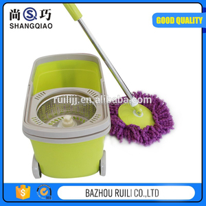user-friendly quick dry spin 360 magic mop