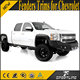 ABS Black priming Side Fenders Boat Trims for Chevrolet Silverado 2007-2013