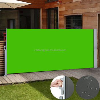 2 X 3M Retractable Side Awning Shade Home Patio Garden Terrace Screen Panel