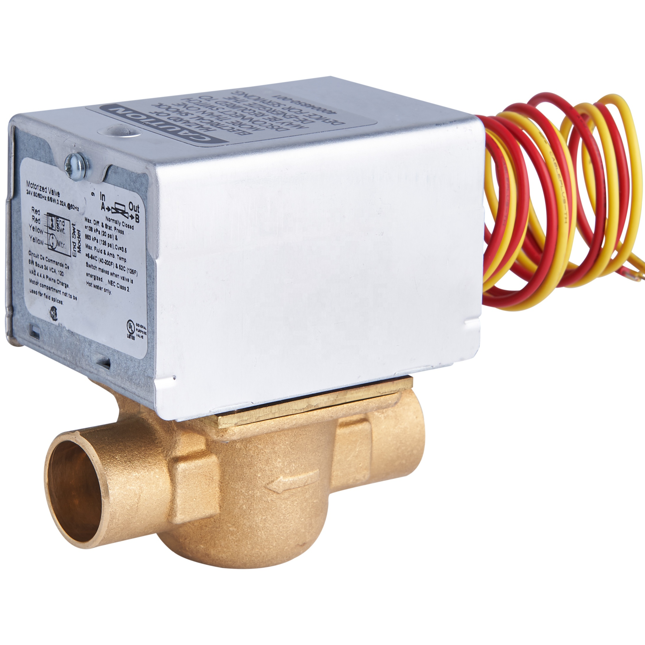 Honeywell Boiler Zone Valves Wiring