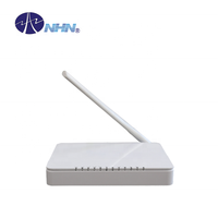 4 Ports FTTH GPON WIFI ONU Router Internet Device