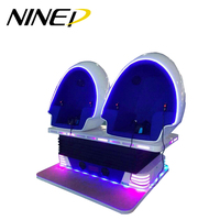 NINED game machine china factory 3 seats 9d egg vr cinema