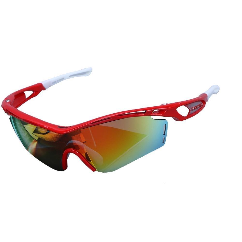 3d2033fc2f Get Quotations · vanpower Cycling Polarized Glasses Sunglasse