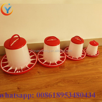 automatic chicken feeder pan poultry farming equipment breeding products