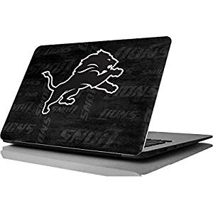 NFL Detroit Lions MacBook Air 11.6 (2010/2013) Skin - Detriot Lions Black & White Vinyl Decal Skin For Your MacBook Air 11.6 (2010/2013)