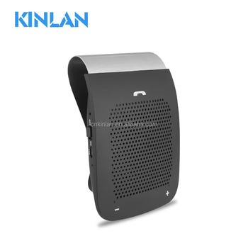 Wireless Bluetooth Speaker Bluetooth Car Kit Speakerphone with Microphone Stereo Music Player