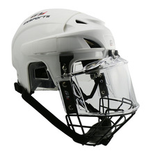 Hockey Sport Protector Ice Hockey Player Helmet With Cage Face Shield With CE Approved