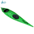 High funny no inflatable 4.2 meters racing canoe with paddle
