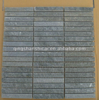 Dark Grey Slate Mini Plankig Tiles