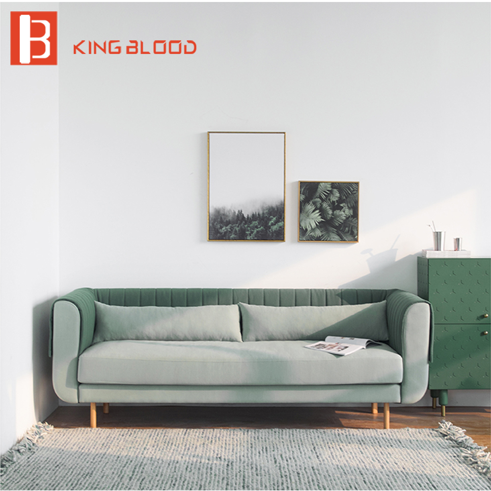 Summer Shade Green Color Scandinavia Style Design Velvet Fabric Material Combination For Sofa Set Furniture Buy Scandinavian Design Furniture Fabric
