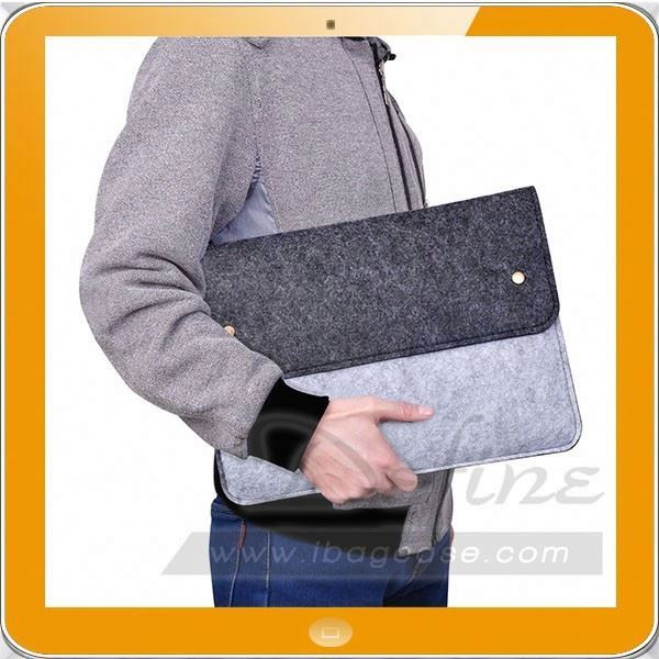 Wool Felt Laptop Sleeve Case Computer Bag Cover