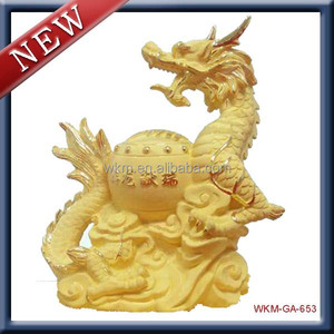 miniature antique dragon souvenir items