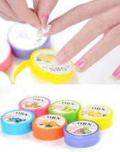1Set 32PCS Professional Nail Art Flavor Wet Wipe Paper Towel Polish Vanish Remover Wraps Maquiagem Beauty