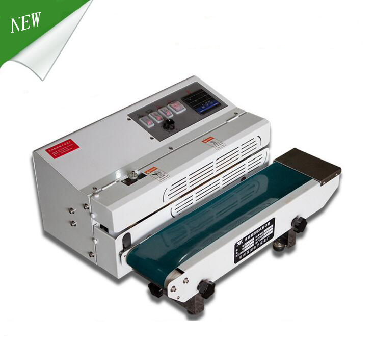 New Type FR-600 Continious Band Code Printing Film Sealing Machine for sale