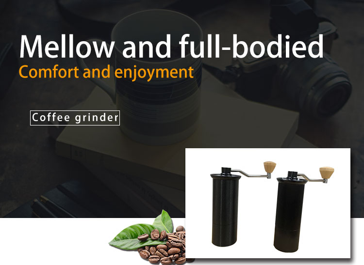 Fashionable Stainless Steel manunal coffee bean coffee grinder