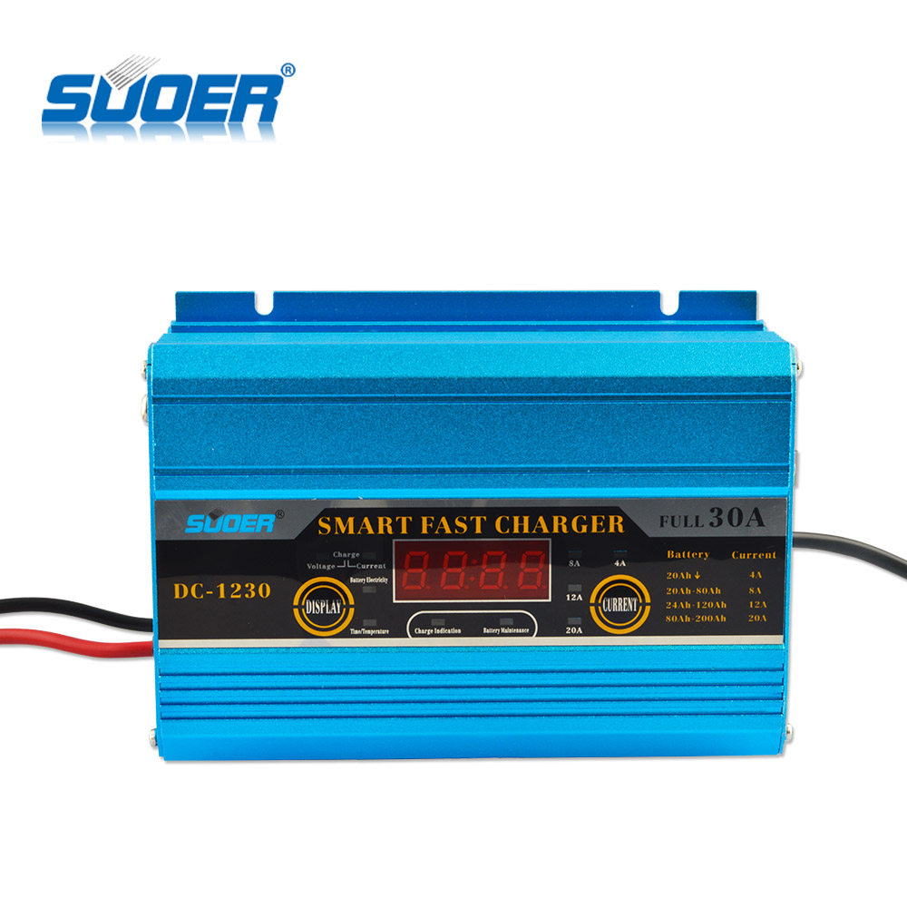 Suoer portable charger 12V 30A Automatic Car Battery Charger with Engine Start Function фото