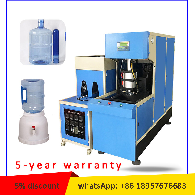 5-YEAR WATTANTY 5L 10L 15L 18L 20 liter PET bottle blowing machine 5 gallon PC bottle blow molding machine price