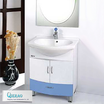 Plastic Pvc Bathroom Washbasin Cabinet
