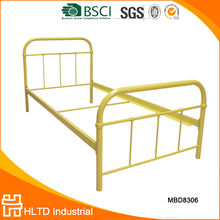 Most popular high quality simple metal twin bed frame wholesale