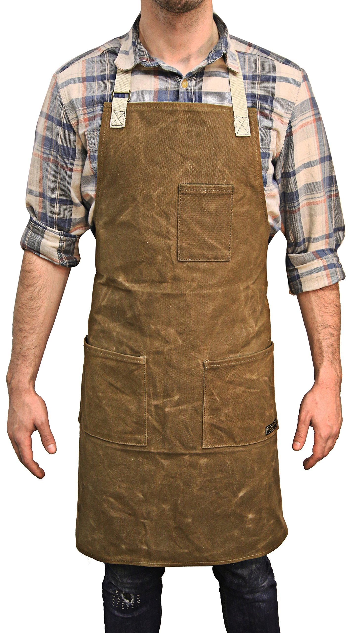 Readywares Waxed Canvas Utility Apron (Tan)
