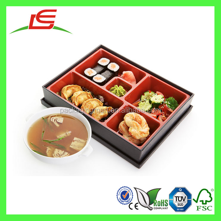 J543 Custom Blister Japanese Lunch Box with Dividers