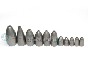 china supplier tungsten lead fishing sinker molds