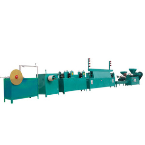 cheap price semi automatic packing application pp strap manufacturing machine