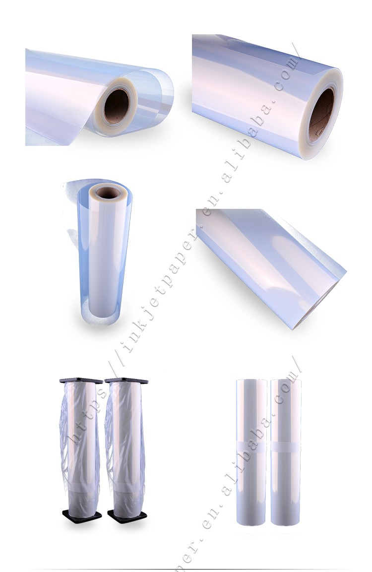 Non-Waterproof Inkjet Transparency Film for Screenprinting