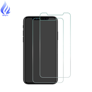 Manufacture 9H High Quality 0.26 mm Ultra Thin Tempered Glass Screen Protector For iPhone X Clear