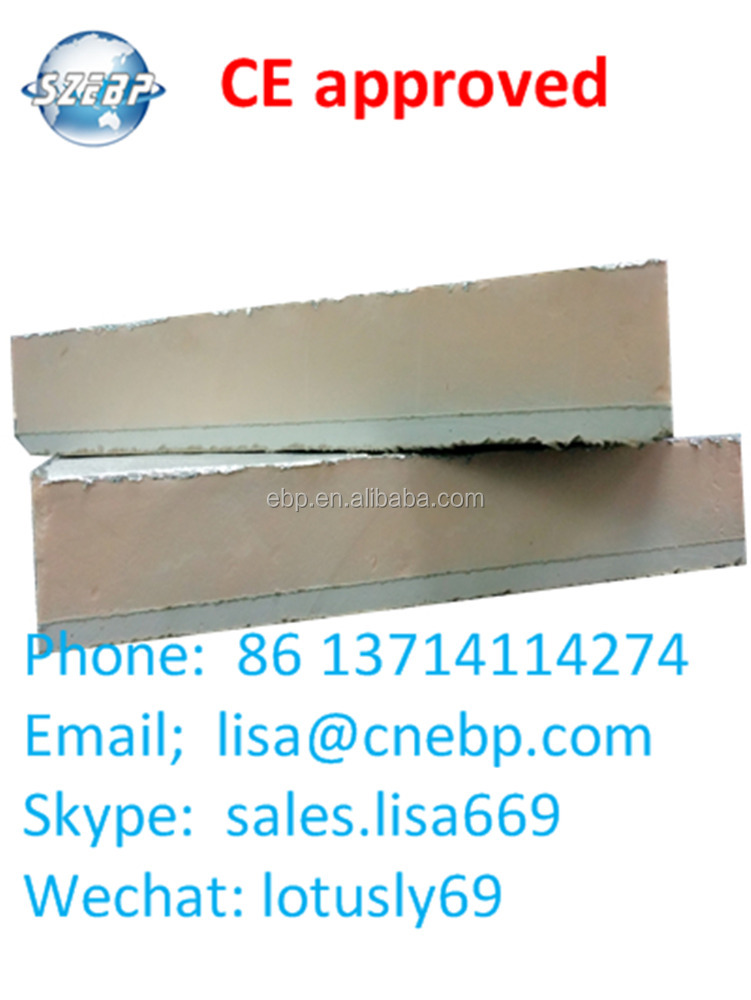 CFC and HCFC free phenolic foam bonded to 12mm drywall board, CE available