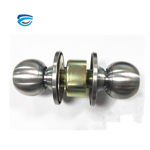 Factory price round brass cylinder knob door lock