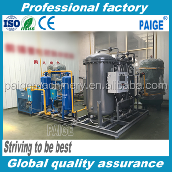 PAIGE Factory Supplies Small Type Nitrogen Generator For Tire Inflation