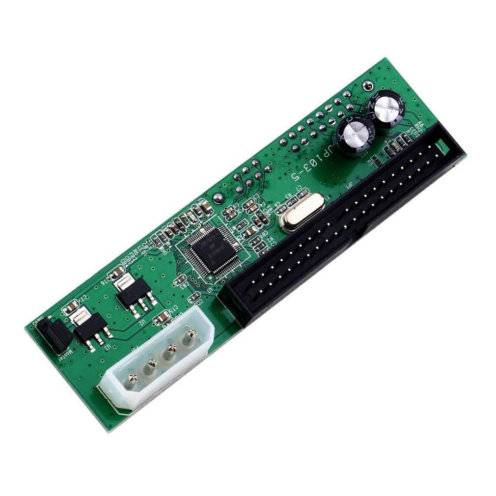 Hestio SATA TO PATA IDE Converter Adapter Plug&Play 7+15 Pin 3.5/2.5 SATA HDD DVD