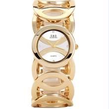 WA126 G & D женские часы 2017 золотые роскошные часы-браслет женские модные повседневные кварцевые наручные часы relogio feminino подарки для девочек(Китай)
