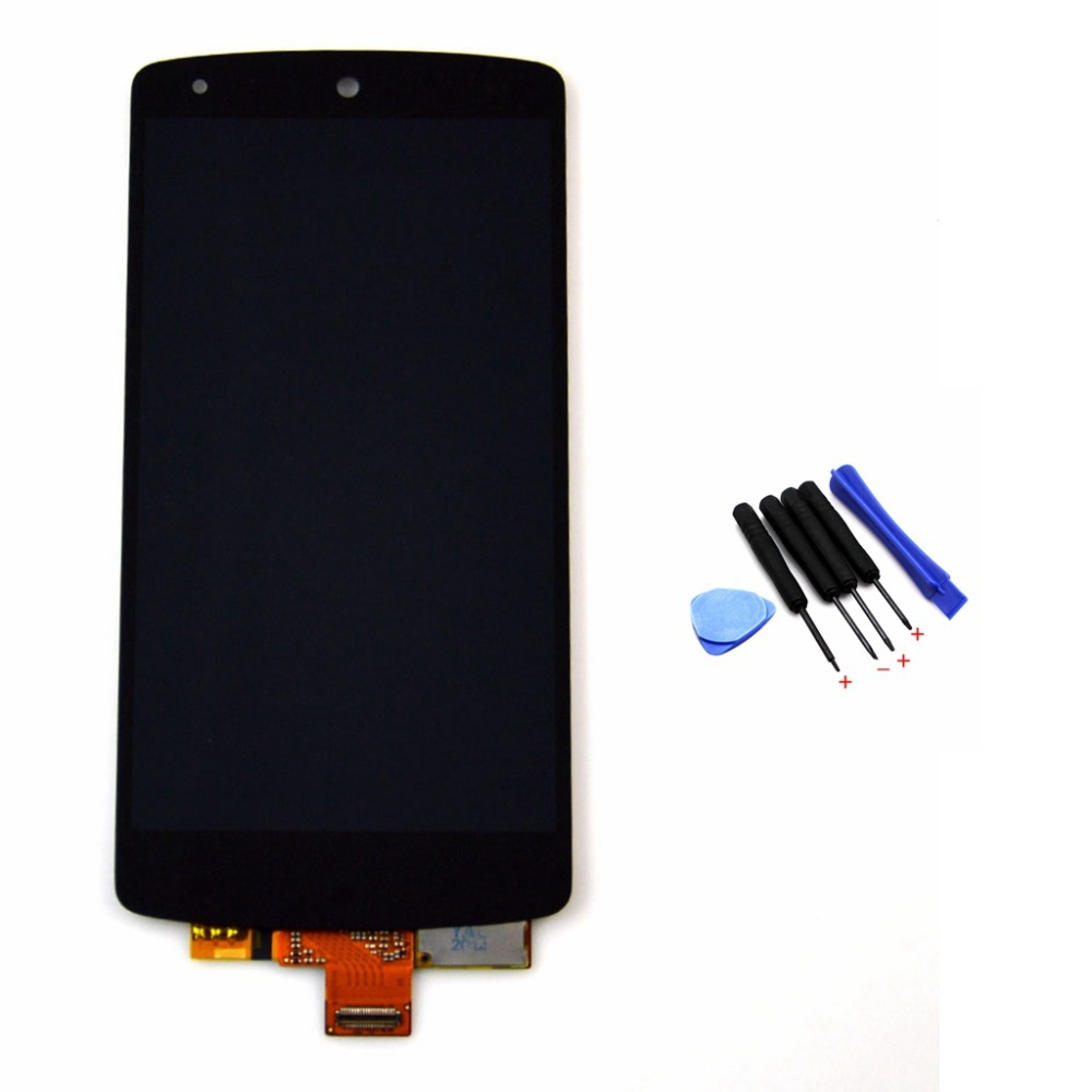D820 LCD Touch Screen with Digitizer Glass Assembly with free tools For LG Google Nexus 5 D820 D821 Free shipping !!!
