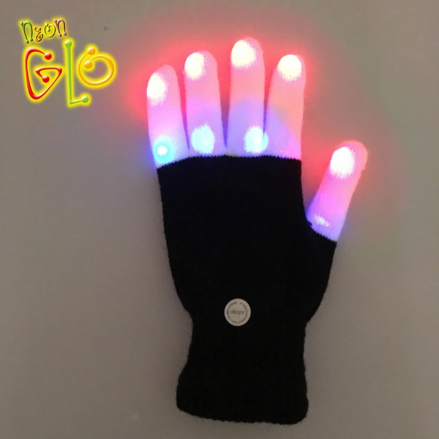 Newstyle 6 Color Party Diy Decorative Led Gloves Holiday Lights El Fluorescent Halloween Gloves For Glow In Dark Party Supplies Durable In Use Back To Search Resultslights & Lighting