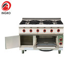 Stainless Steel Table Top Electric Stove/Gas Cooking Burners Industrial/Gas Stove Pan Support