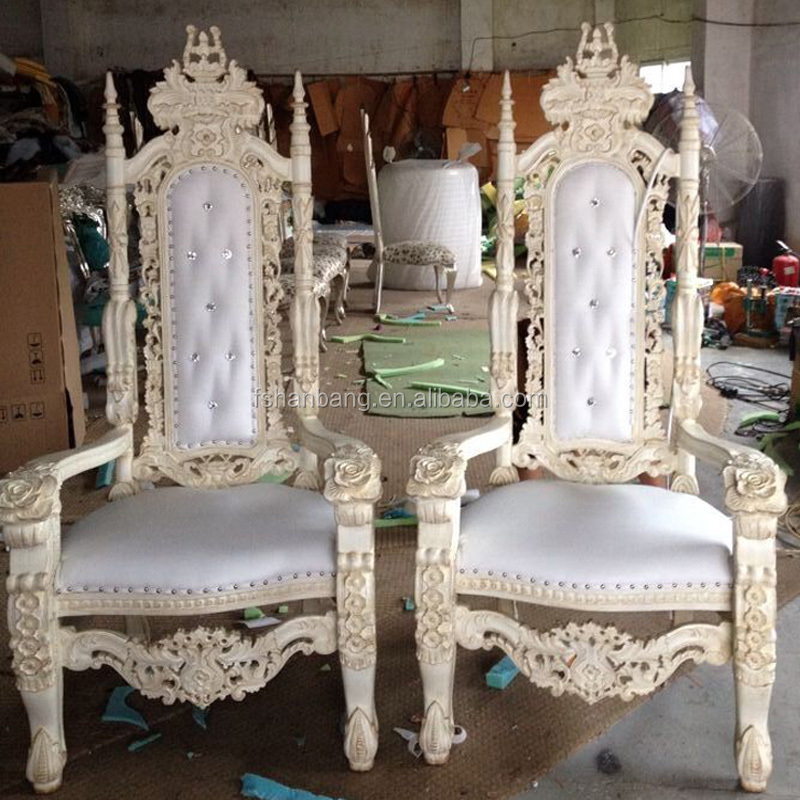 Luxury Carved Wooden King quince throne chair king and queen chairs - Luxury Carved Wooden King Quince Throne Chair King And Queen