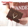 Plum blossom buckle small embroidered wallet best selling products for women