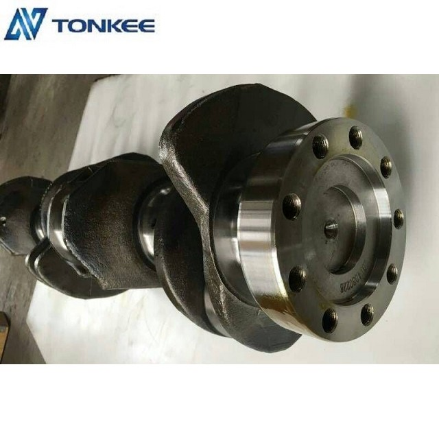 forged steel 5i7671 crankshaft assy 1253005 engine crankshaft 3066